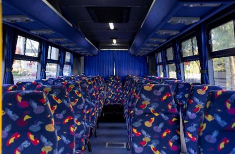 Stabus Tours Bus Interiors